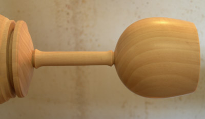 goblet stem finished